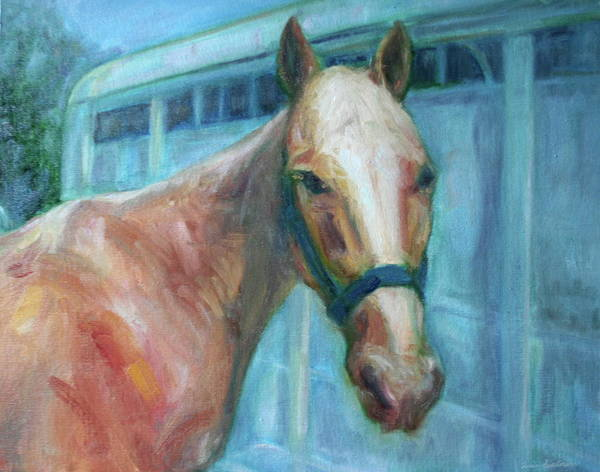 Custom Pet Portrait Painting - Original Artwork -  Horse - Dog - Cat - Bird Poster