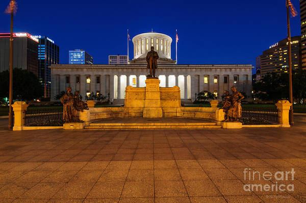 D13l112 Ohio Statehouse Photo Poster