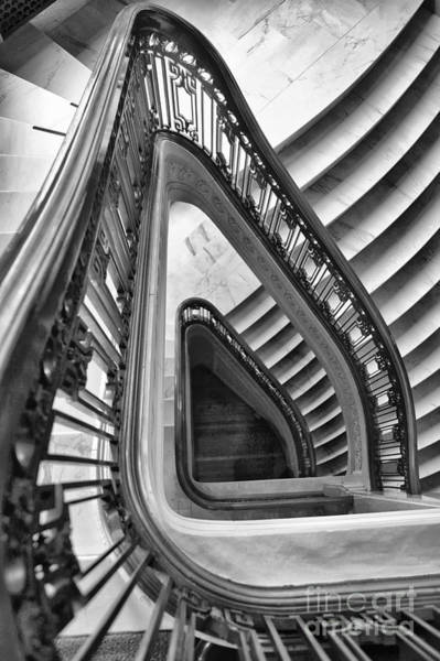 Dali Stairs Poster