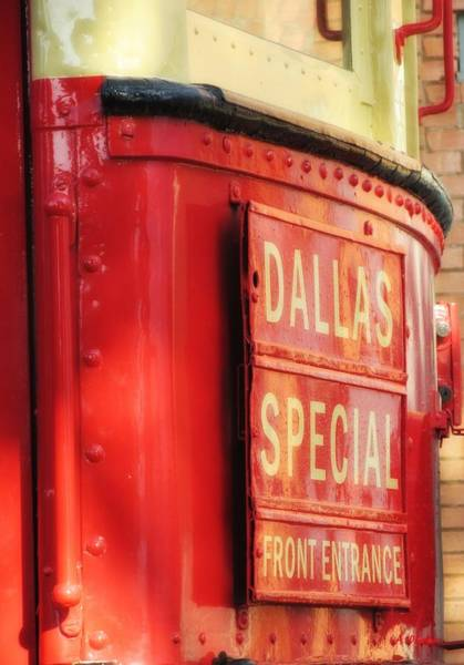 Dallas Special Front Entrance Poster