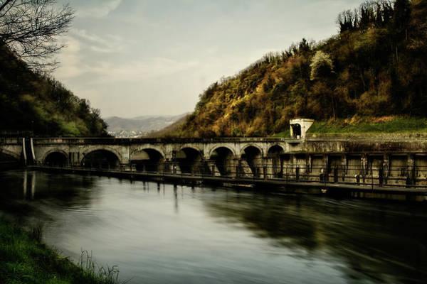 Dam On Adda River Poster