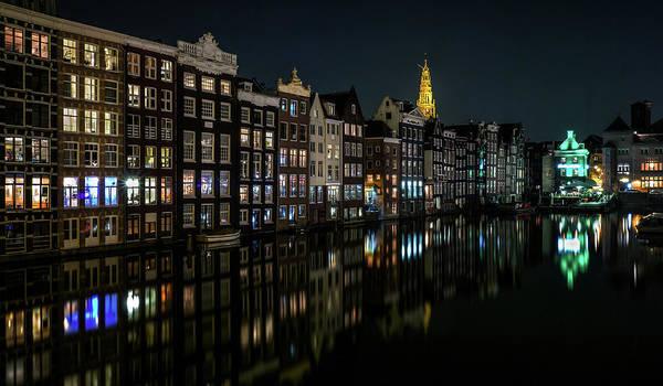 Damrak, Amsterdam Poster