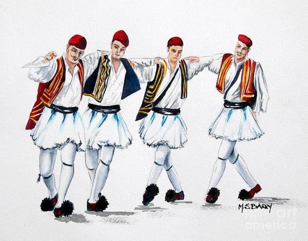 Dancing Evzones Poster