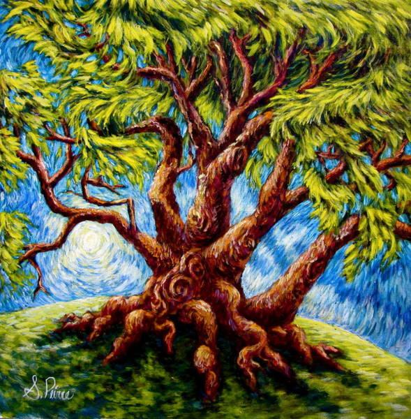 Dancing Tree Poster