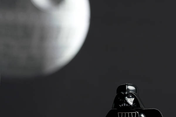 Darth And His Death Star Poster