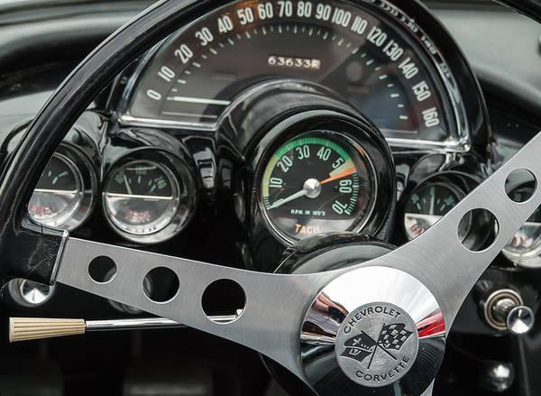 Dashing  1962 Corvette Poster