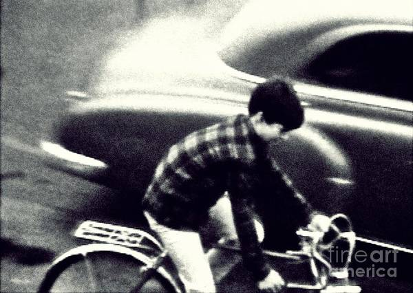 Dave On A Bike Poster