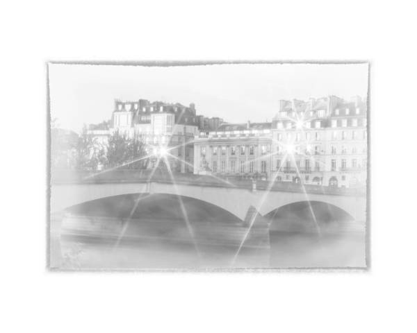 Dawn Along The Seine Poster