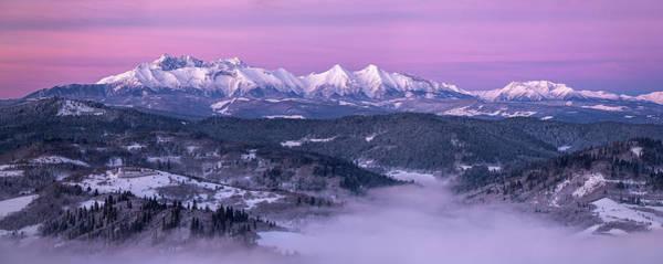 Dawn - Tatra Mountains Poster
