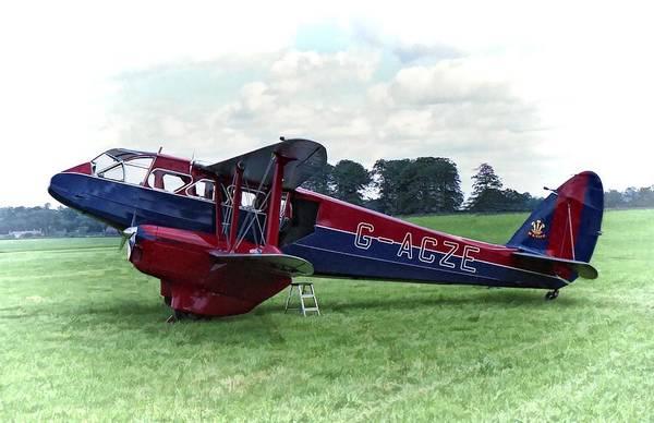 De Havilland Dragon Rapide Poster