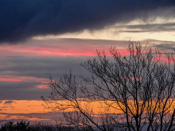 December County Clare Sunrise Poster