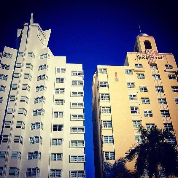 Delano And National Hotel's - Miami ( Poster