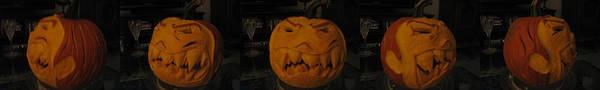Demented Mister Ullman Pumpkin 3 Poster