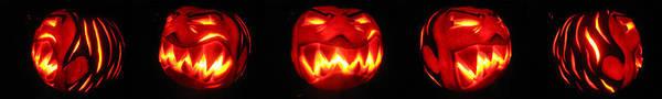 Demented Mister Ullman Pumpkin Poster