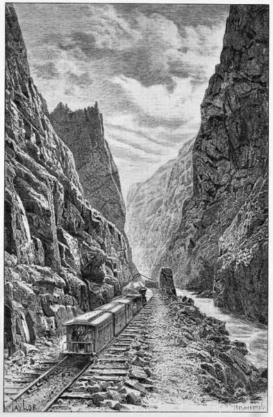 Denver And Rio Grande Railroad Poster