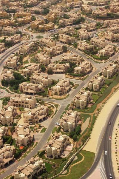Desert Homes Near Dubai. Poster