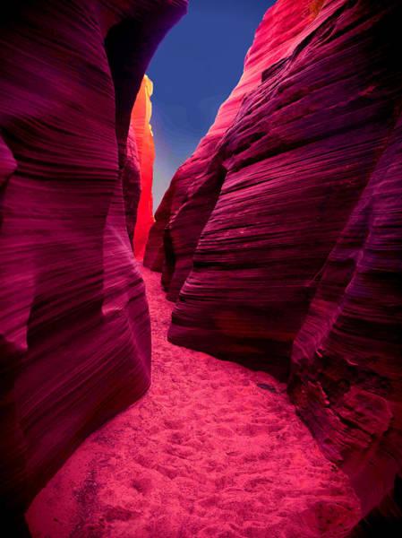 Desert Maze Poster