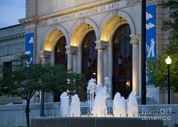 Detroit Institute Of Arts Poster