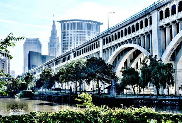 Detroit-superior Bridge - Cleveland Ohio - 1 Poster