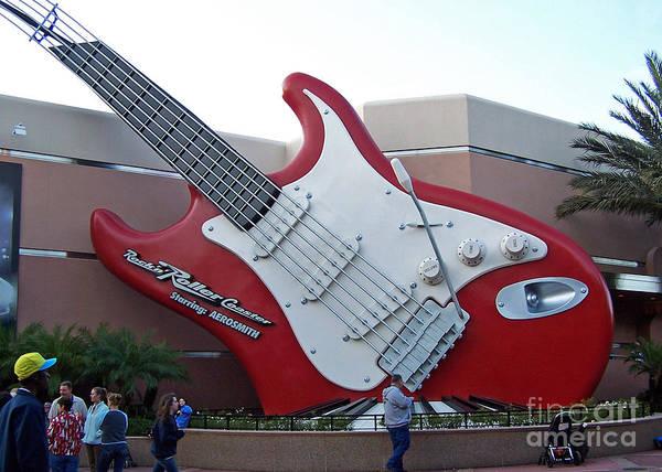 Disney Guitar Poster