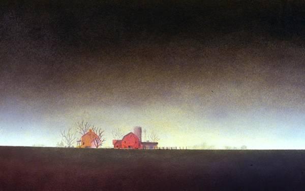 Distant Farm Poster
