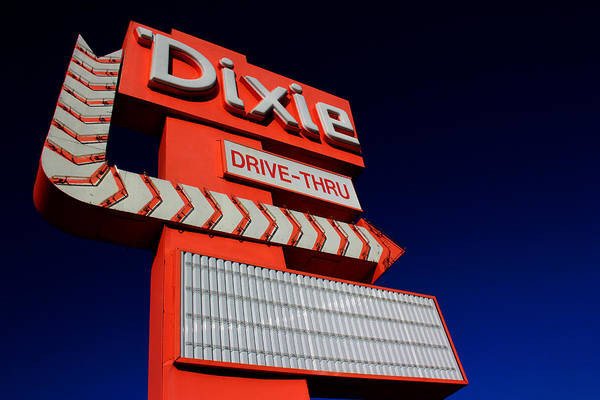 Dixie Drive Thru Poster