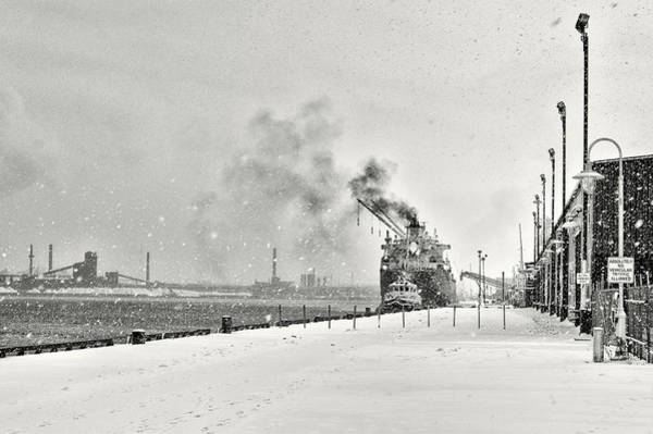 Poster featuring the photograph Dockyard by Garvin Hunter
