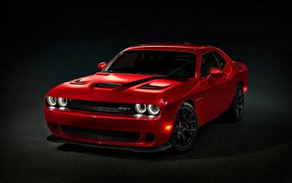 Dodge Challenger S R T Hellcat Poster
