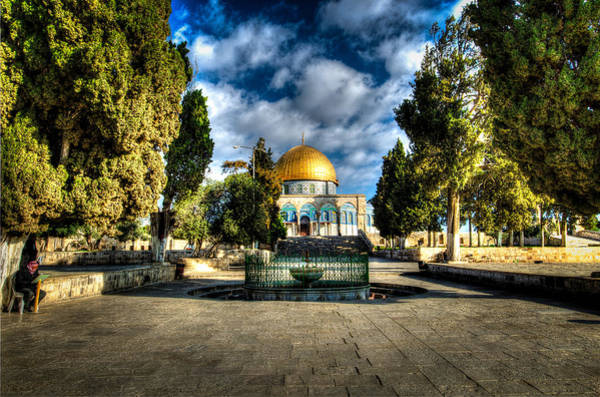 Dome Of The Rock Hdr Poster