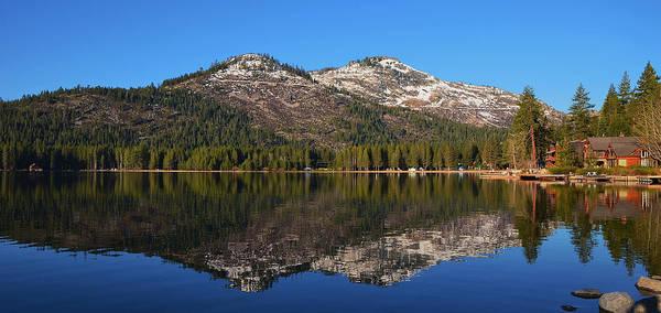 Donner Lake Reflection Poster