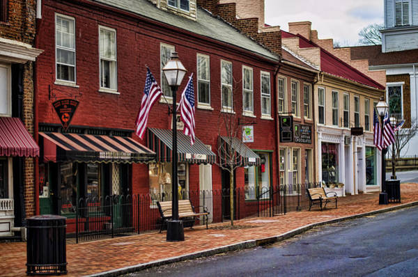 Downtown Jonesborough Tn Poster