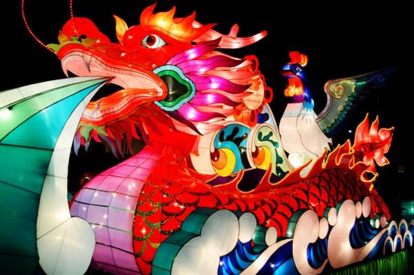 Dragon Float Poster
