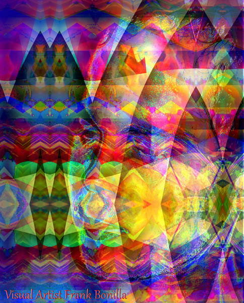 Poster featuring the digital art Dreaming by Visual Artist Frank Bonilla