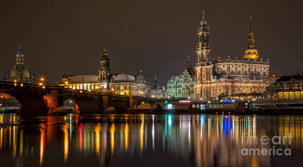 Dresden By Night Poster