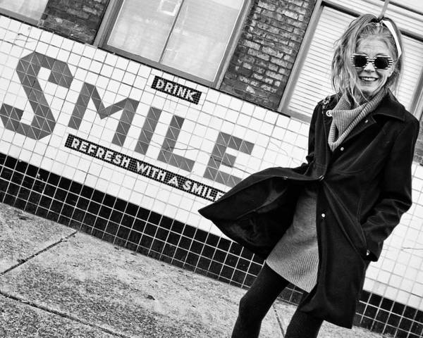 Drink Smile Poster