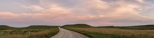 Driving Through The Flint Hills Poster