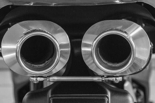 Ducati Twin Exhaust Poster