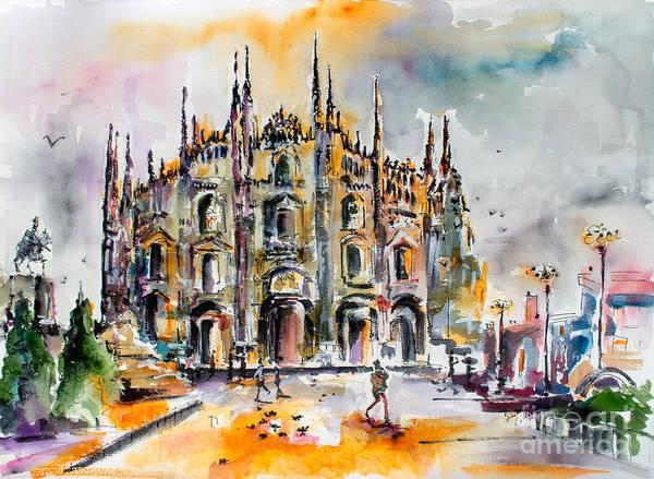 Duomo Milan Italy Poster