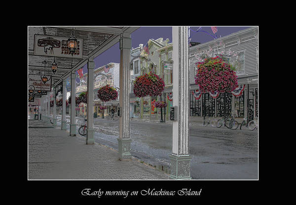 Early Morning On Mackinac Island Poster
