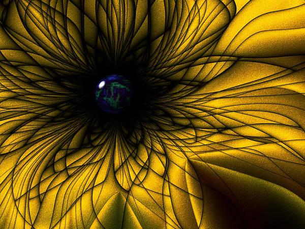 Earth Flower Poster