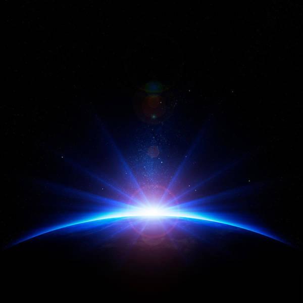 Earth Sunrise Poster
