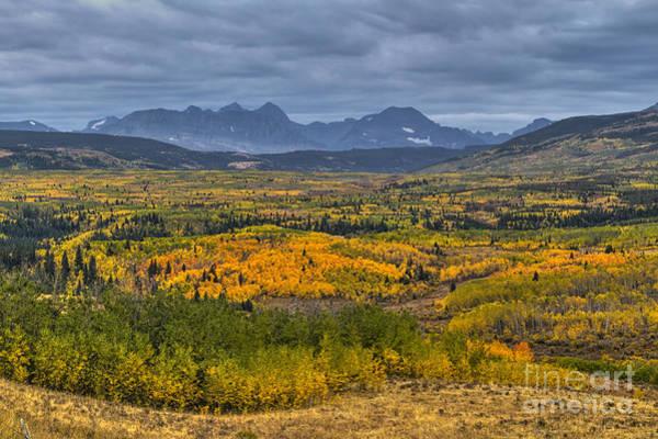 East Glacier Autumn Colors Poster
