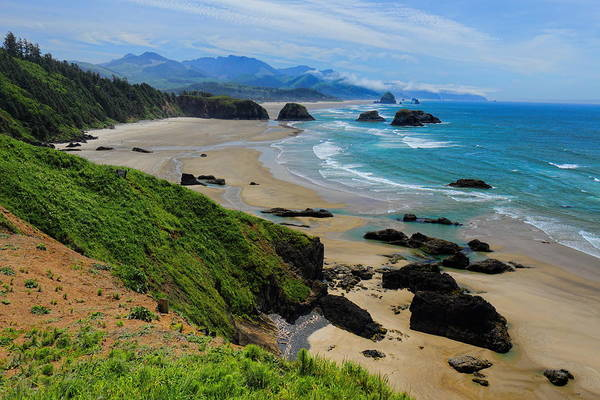 Ecola State Park Beach Poster