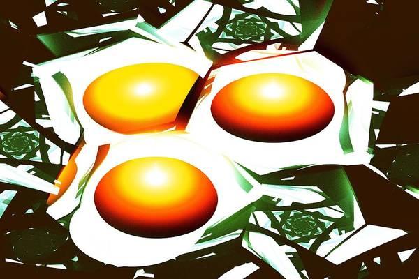 Eggs For Breakfast Poster