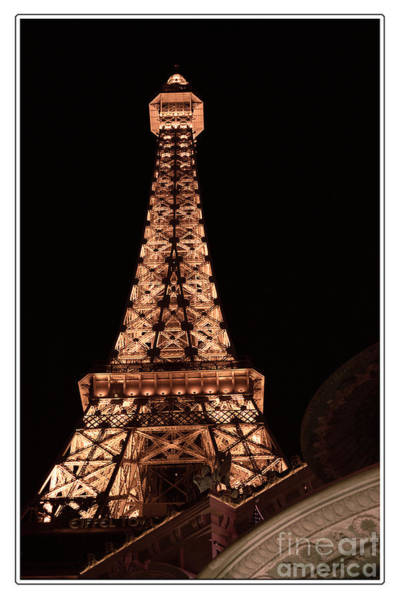 Eiffel Tower Light Up My Dreams Poster