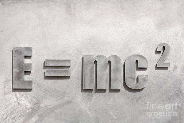 Einstein Sculpture Emc2 Canberra Australia Poster