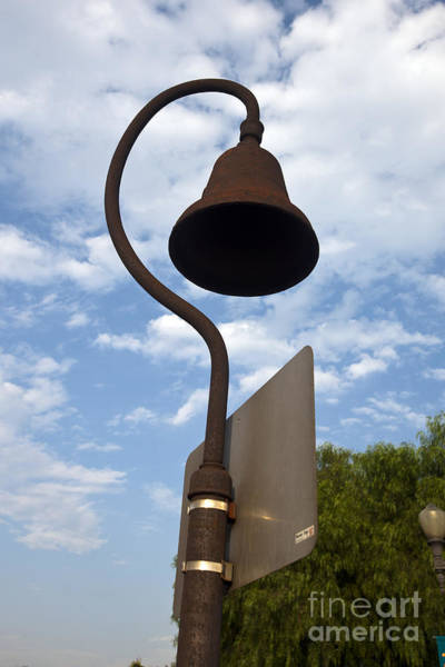 El Camino Real Bell Outside Of San Gabriel Mission Poster