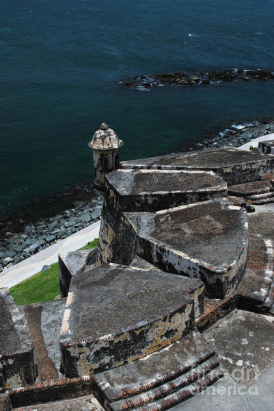 El Morro From Above Poster