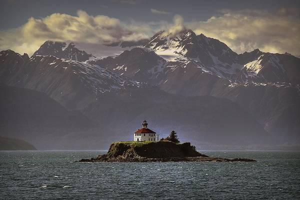Eldred Rock Lighthouse Alaska Poster