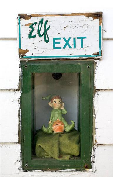 elf exit, Dubuque, Iowa Poster